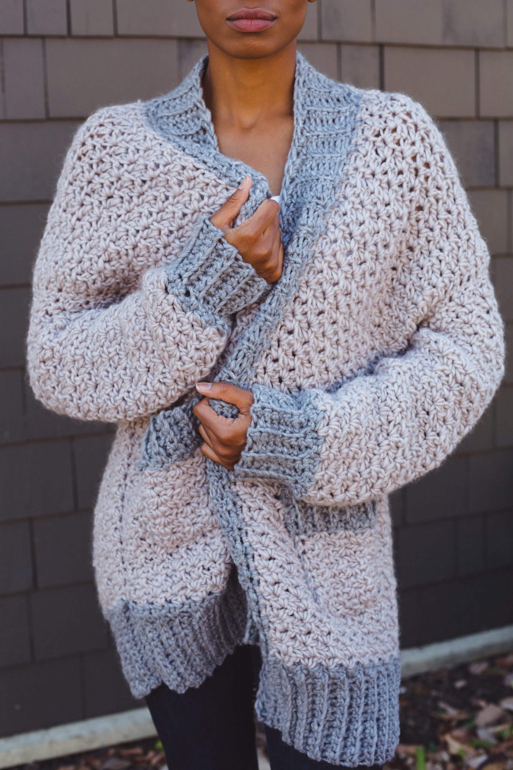 6627b3435507d TL Yarn Crafts - Relaxed Cardis   Cocoons  9 Cozy Crochet Patterns ...