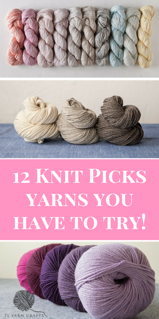 Have you tried Knit Picks Yarn - gorgeous yarns in every weight, color, fiber combination, and price range, delivered to your door. Here are 12 of my favorites