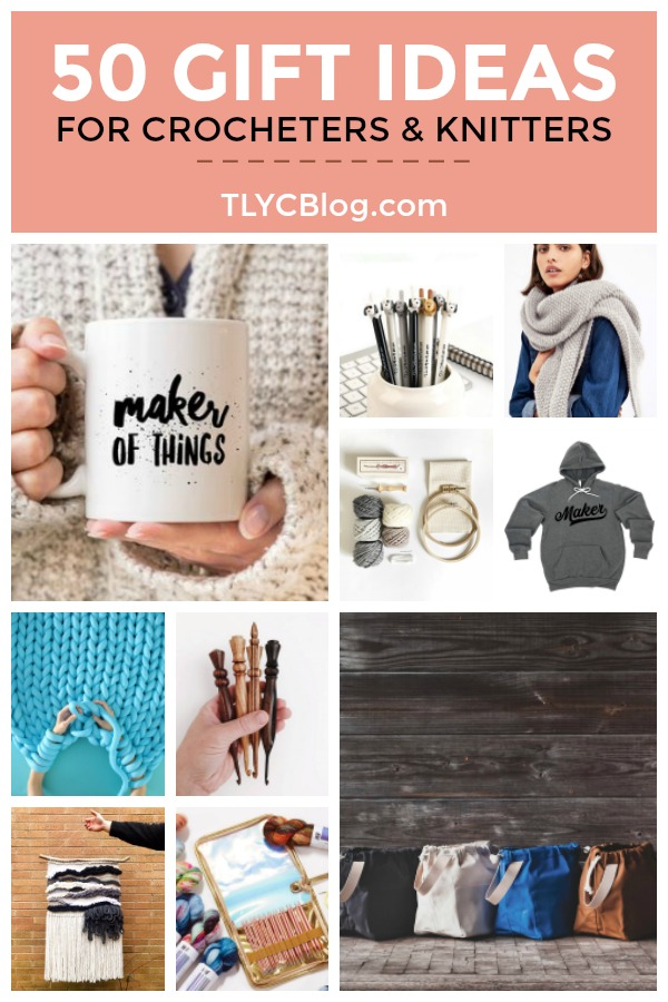 I asked 40,000 knitters and crocheters what they wanted for Christmas this year. I compiled that list into the top 50 gifts for makers in 2018. All of these finds make great gifts for christmas, birthdays, anniversaries, even just to say I love you! Give these gifts to your mothers, sisters, aunts, friends, wives, interns, and neighbors! #giftsforknitters #giftsforcrocheters #giftsformakers #christmasgift #birthdaygift