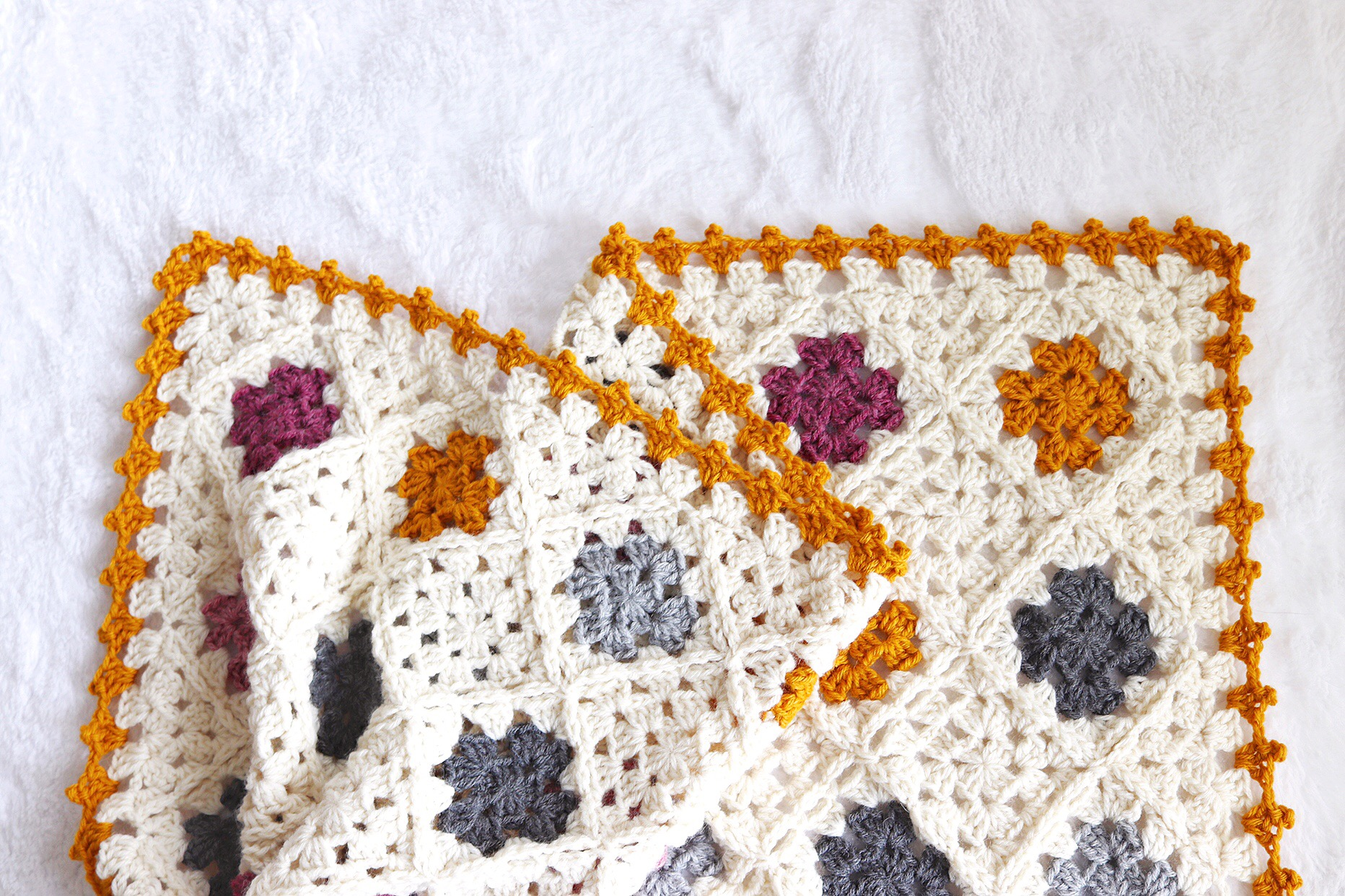 Tl Yarn Crafts The Sweet Granny Baby Blanket A Modern Granny Square Afghan Tl Yarn Crafts